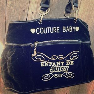 Juicy couture baby bag infant